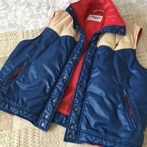 Other - Rare Vintage Puffy Vest by Lighting Bolt
